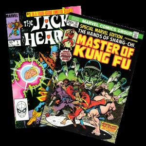 Comic Book Back Issues